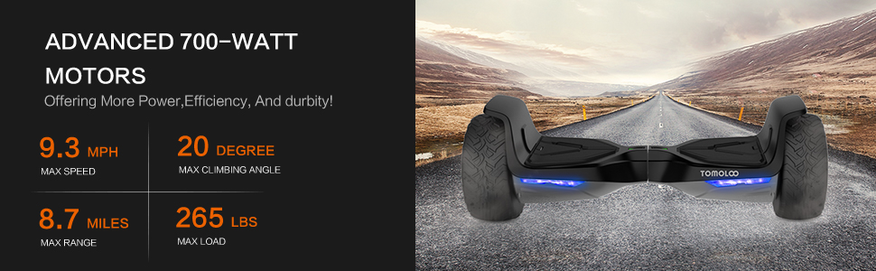 All terrains hoverboards