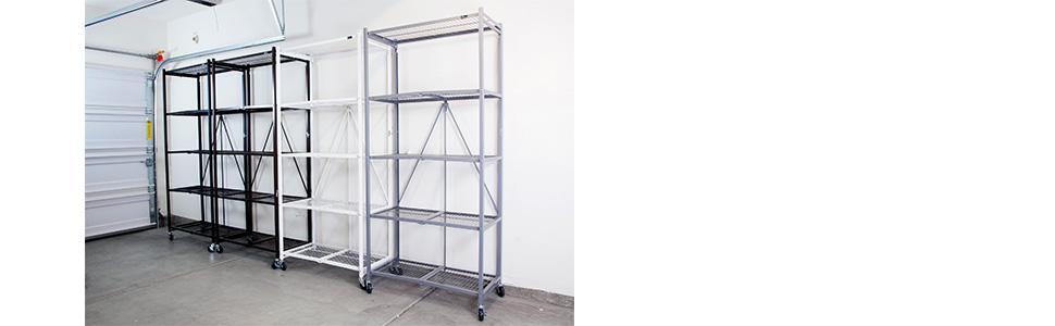 Origami Folding Decorative 4-Shelf Rack - 10073251 | Origami ... | 300x970