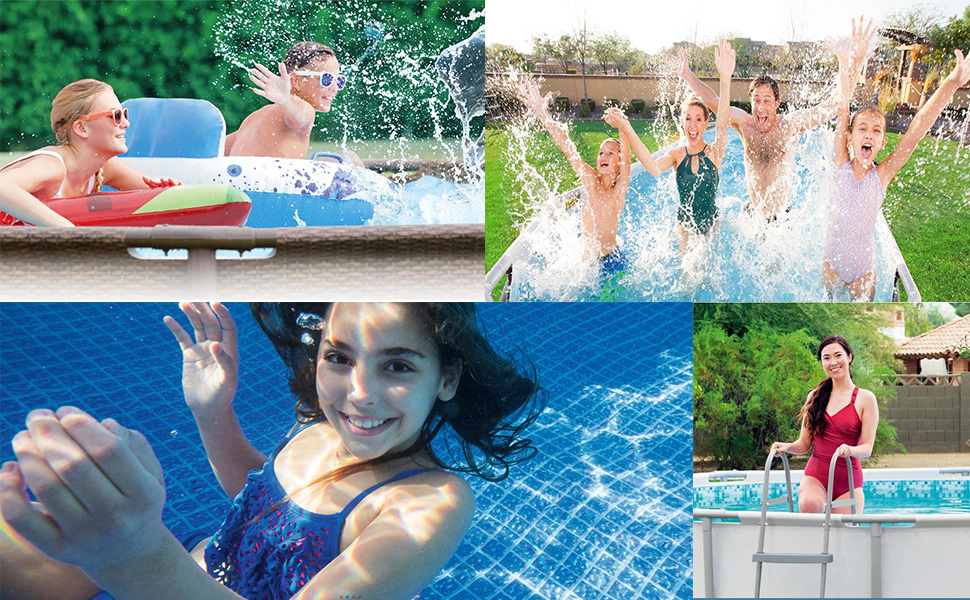 pool life family fun affordable