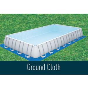 ground cloth feature above ground