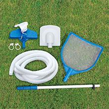 swimming pool cleaning maintenance kit