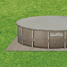 ground cover pool cover included