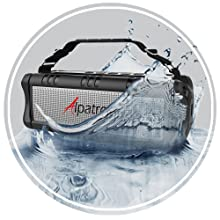 ipx5 waterproof splashproof rating can withstand splash, jet streams and waves protection