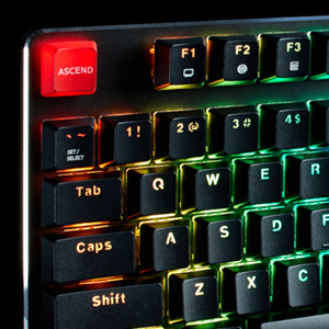 Glorious Modular Mechanical Gaming Keyboard - Full Size (104 Key) - RGB LED Backlit, Brown Switches, Hot Swap Switches (Black)(GMMK-BRN)