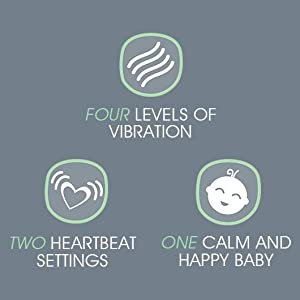Tranquilo Mat, Large: Vibrating Baby Mat Aides in Calming Fussy Baby for Easier Sleep - Soother Pad is Great Solution to Help Baby Sleep in The Crib, ...