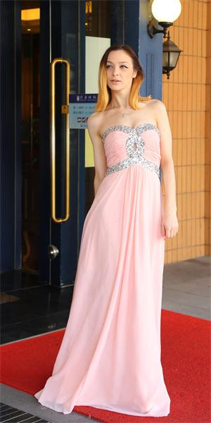 4660419b0191 Pretty and graceful, this strapless sweetheart prom dress will keep you  feeling confident all night long. Beautiful beading accents the bodice for  added ...