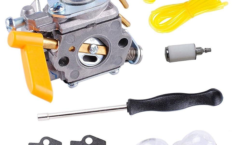 Amazon.com: podoy 25 cc para carburador c1u-h60 línea de ...