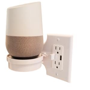 Amazon Com Mount Genie Smart Home Outlet Shelf Hidden