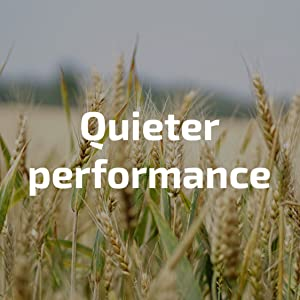 quieter performance