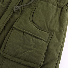 4How Women Parka Jacket with Pocket