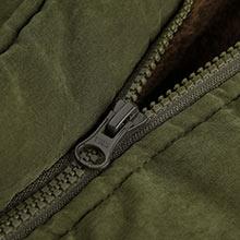 4How Women Parka Jacket with High Quality Ykk Brand Zipper