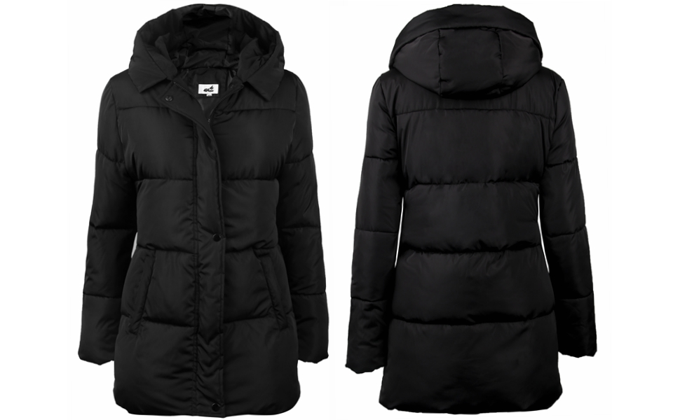 Amazon.com: 4HOW Women's Hooded Packable Puffer Down