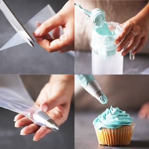 large piping tip, cookie decorating icing tips,cake ice tip,tip covers for icing,frosting kit