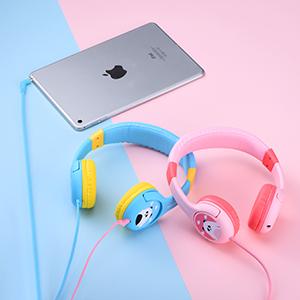 kids headphones with PC/Cellphones