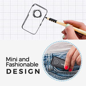 fashionable and compact design
