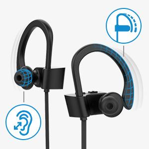 bluetooth headphones wireless headphones sport headphones wireless earbuds running headphones