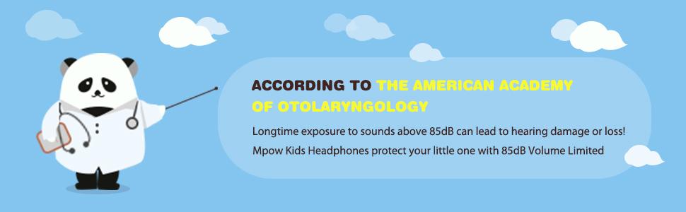 Volume limit headphone