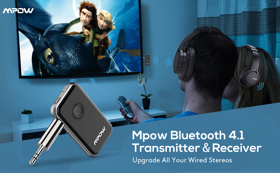 mpow bluetooth receiver and transmitter