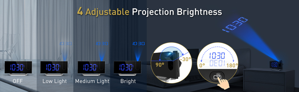 Best Projection Alarm Clock (Aug  2019) - Buyer's Guide