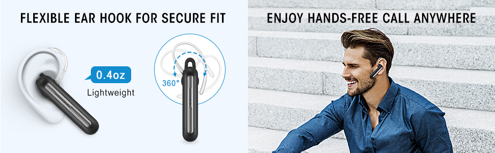 Mono Bluetooth Headset
