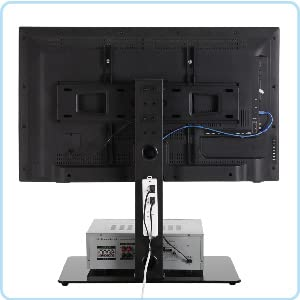 tv stand with cable management