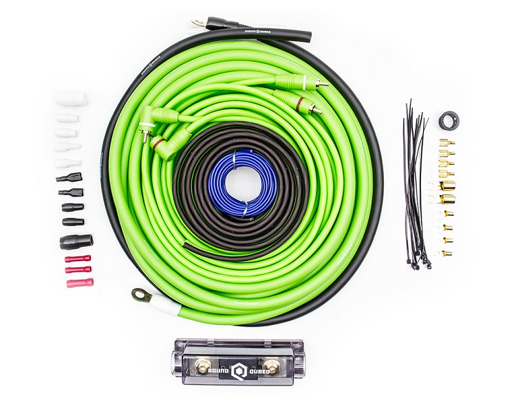 SoundQubed 4 Gauge Amplifier Wiring Kit on