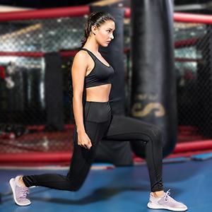 Century Star Womens Yoga Pants Stretch Sweat-Wicking High Waist Leggings Sports Leggings with Pockets CUB2S2793Y0000SN