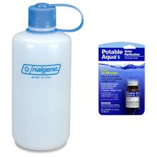 Nalgene Bottle & Aqua Tabs