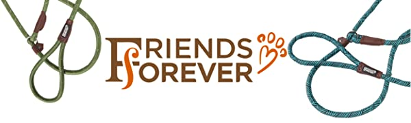 Friends Forever, rope leash, rope, leash, dog, pet, slip lead