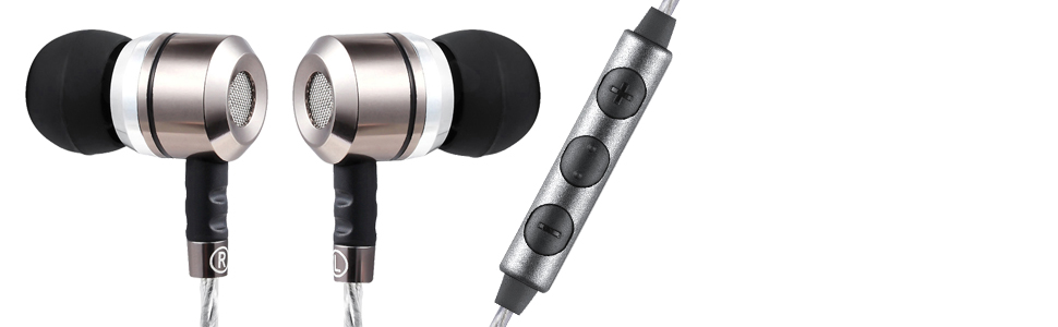 sephia earphones heavy bass and volume controller image