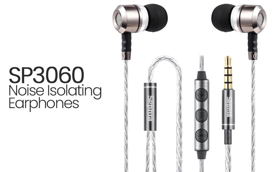 sephia earphones with microphone