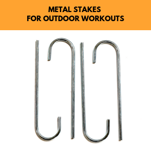 metal stakes for bltzpro agility ladder for outdoor training, reduce tangling