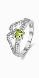 crown ring,princess ring