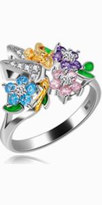 flower rings for women,floral girls rings,women statement rings,statement ring for women