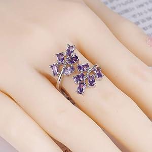 leaf ring adjustable, leaf ring with stone, leaf ring dish, leaf ring size 4, leaf ring band