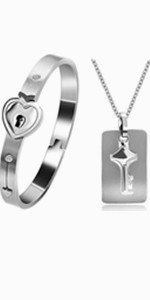 lock bracelet for girls,key pendant necklace,key necklace for boys,you hold the key to my heart