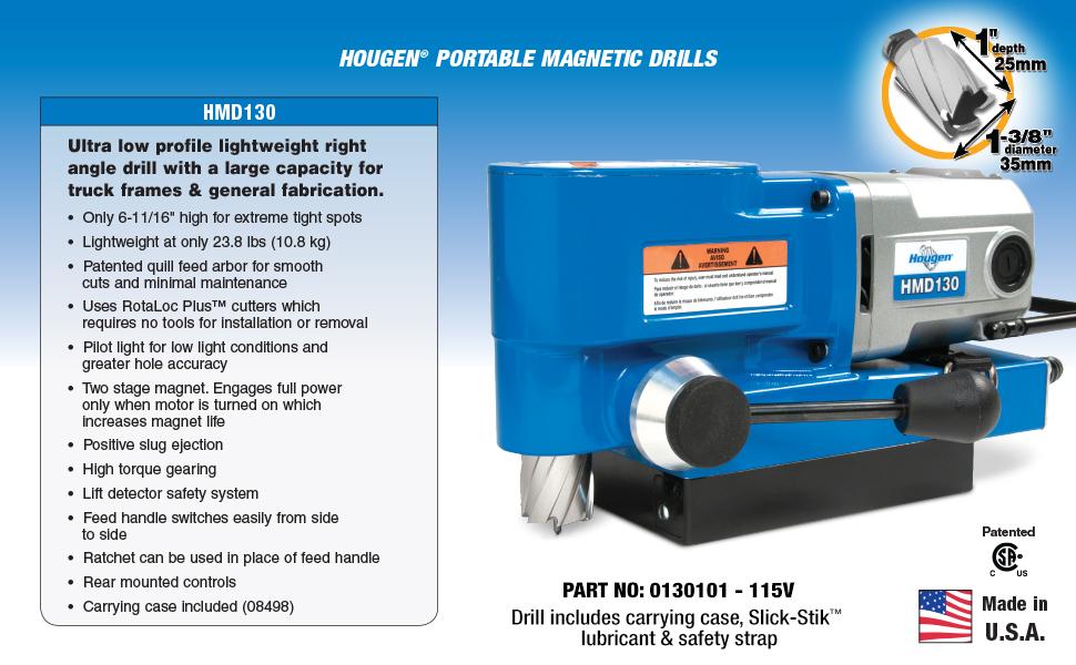 Hougen HMD130