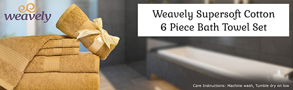 Weavely towels, towel set, bath towels, pink towels, cotton towels, navy blue towels, gold towels