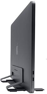 Vertical Laptop Stand Desk Space Adjustable Vertical Stand Cradle Laptop Holder Apple MacBook Pro