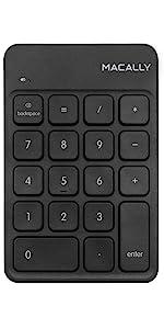 Macally RF Wireless Numeric Keypad