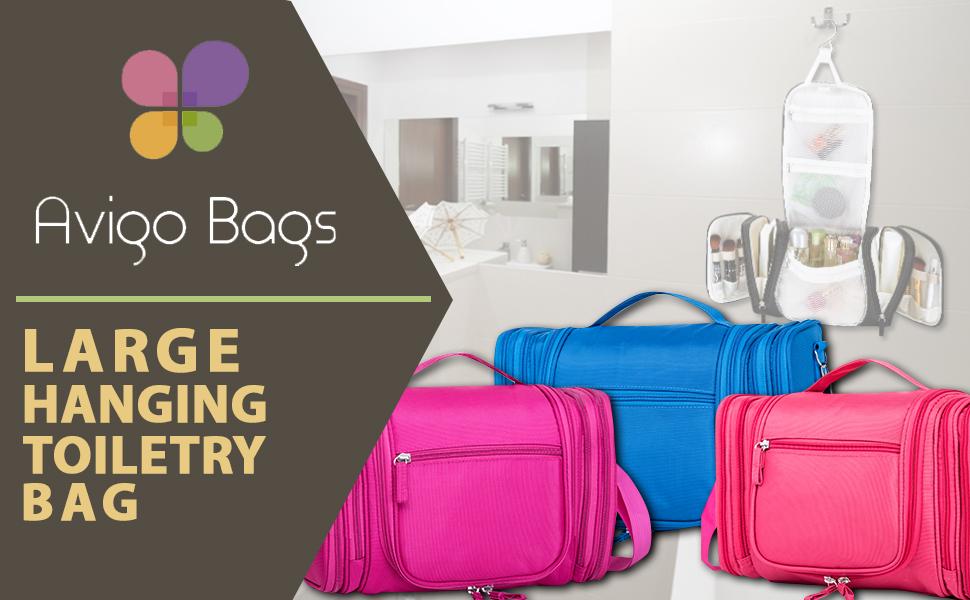Avigo Bags toiletry bags many pockets travel cosmetics makeup gym