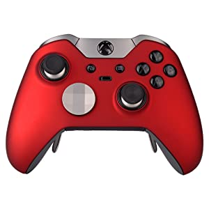 elite controller faceplate red