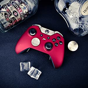 elite controller shell red
