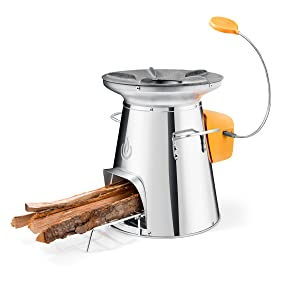 solo stove, wood powered stove, BioLite, solostove, wood stove, portable stove