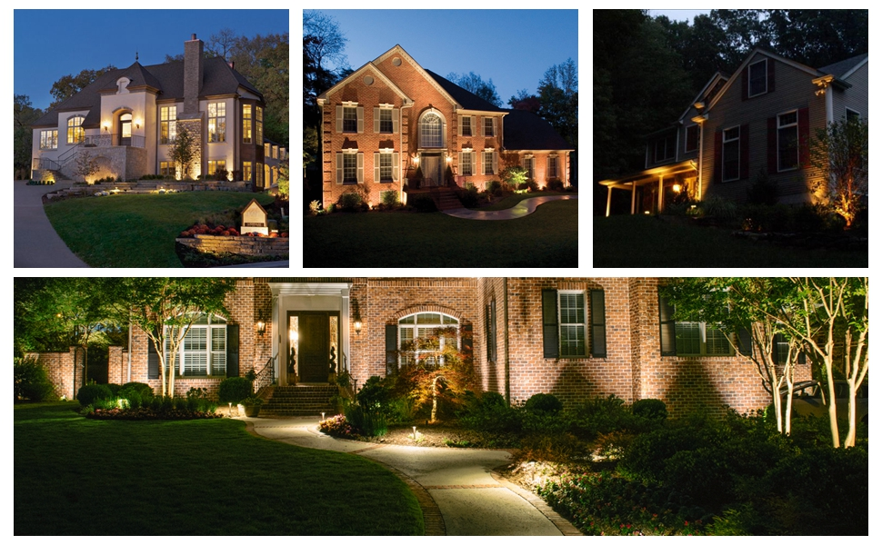 Outdoor low voltage landscape lighting for professional results