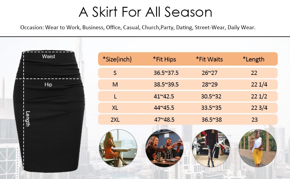 skirt size