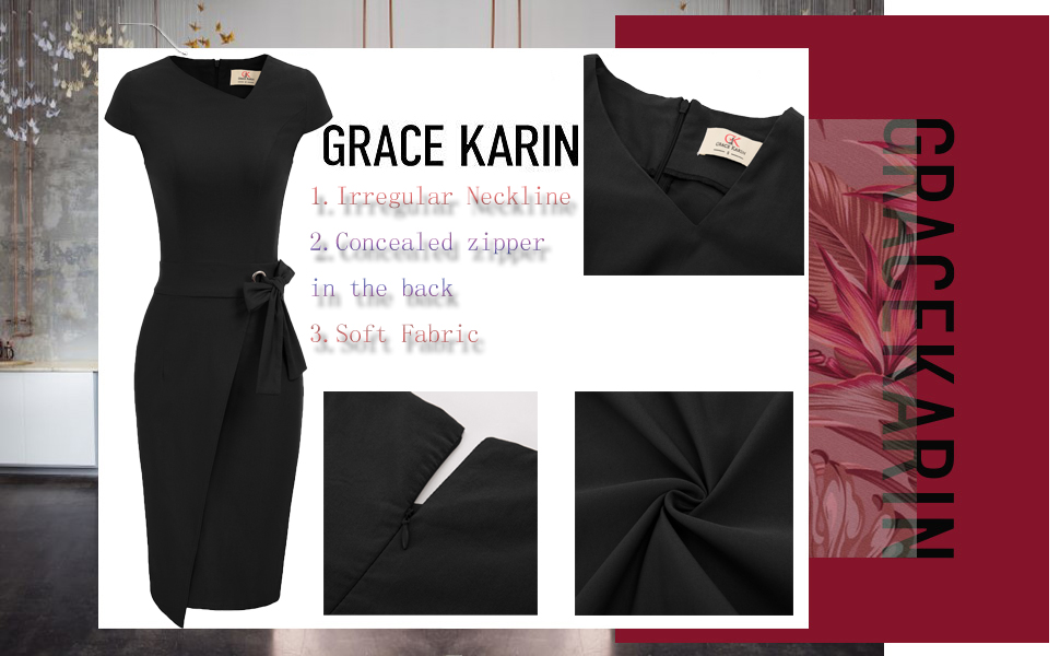 black pencil dresses for women