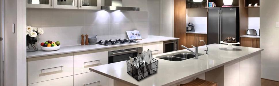 Silverware Caddy Flatware Cutlery