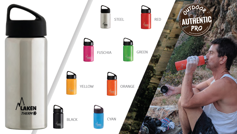 Amazon.com: Laken Termo aspiradora aislado botella de agua ...