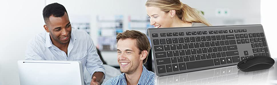 WIRELESS KEYBOARD AND MOUSE SLIM